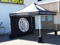 10 x 10 tent with backwall