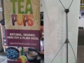 Telescopic X Banner Stand