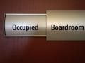 Slider Door Sign